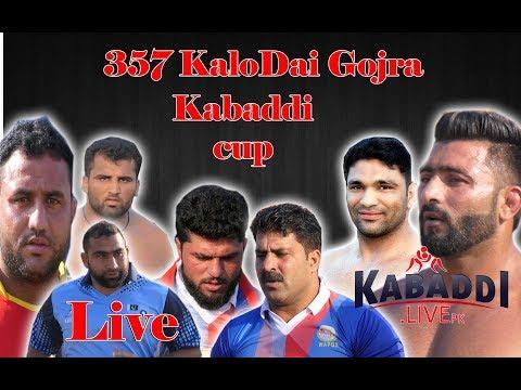 🔴Live | 357 KaloDAI Gojra Kabaddi Cup 20-09-2019 | Kabaddi.LivePk | Punjabi Lehar